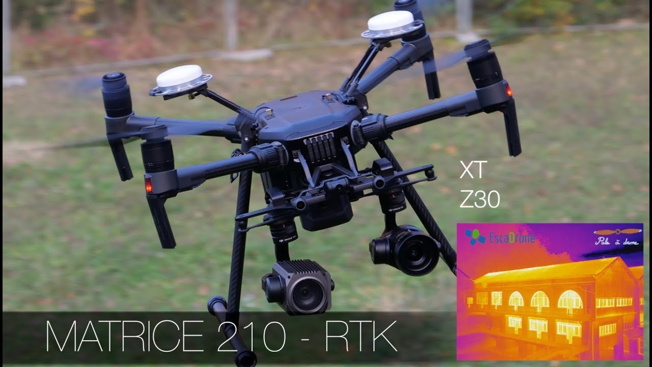 drone matrice flir640 formation thermo